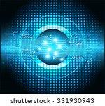 dark blue light abstract...   Shutterstock .eps vector #331930943