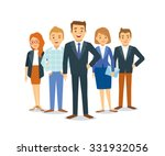 vector business team | Shutterstock .eps vector #331932056