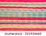 thai interlace mat texture | Shutterstock . vector #331934660