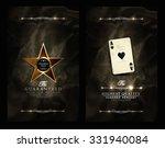 casino card collection elegant... | Shutterstock .eps vector #331940084