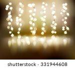 light strings. vector... | Shutterstock .eps vector #331944608