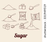 sugar free product design ... | Shutterstock .eps vector #331949519