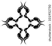 tribal tattoo vector design... | Shutterstock .eps vector #331952750