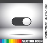 toggle on off vector icon