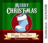 design christmas card   Shutterstock .eps vector #331965488