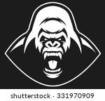 vector illustration  head evil... | Shutterstock .eps vector #331970909