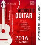 Acoustic Guitar Event Design...