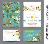 Invitation Or Greeting Card Se...