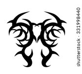 tattoo tribal vector design... | Shutterstock .eps vector #331998440