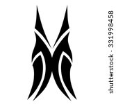 tattoo tribal vector design... | Shutterstock .eps vector #331998458
