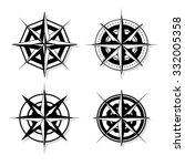 vector compass   Shutterstock .eps vector #332005358