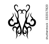 tattoo tribal vector designs....   Shutterstock .eps vector #332017820