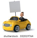 fun car | Shutterstock . vector #332019764