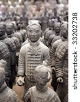 Replica Of Terracotta Warriors...