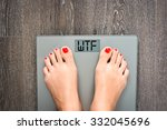 lose weight concept with person ...   Shutterstock . vector #332045696