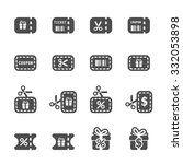 coupon and discount icon set 3  ...
