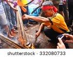 namdinh  vietnam   oct 3  group ...   Shutterstock . vector #332080733