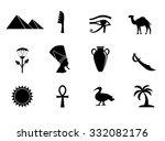Egyptian Icon Set.
