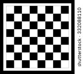 Chessboard With A Black Frame