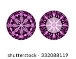 diamond cutting perfect 3d... | Shutterstock . vector #332088119