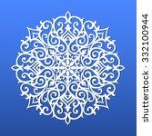 snowflake   Shutterstock .eps vector #332100944
