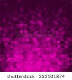 abstract banner with triangle... | Shutterstock . vector #332101874
