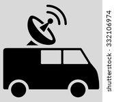 radio control car vector icon.... | Shutterstock .eps vector #332106974