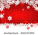 christmas red background | Shutterstock . vector #332151593