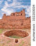 Small photo of Abo Pueblo Ruins and Kiva New Mexico