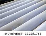oxidation rust steel pipe on... | Shutterstock . vector #332251766