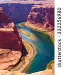 Colorado River Cuts Through...