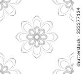 floral vector ornament.... | Shutterstock .eps vector #332277134