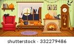 vector illustration of living... | Shutterstock .eps vector #332279486