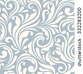 Vector Vintage Seamless Blue...