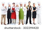 Group Of Professional Chefs...