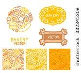 vector set of logo design...   Shutterstock .eps vector #332345306