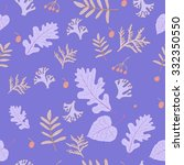 vector seamless pattern with... | Shutterstock .eps vector #332350550