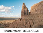 Mountain Peak In The Desert