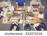 business people technology... | Shutterstock . vector #332373218