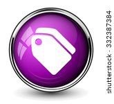 tag label icon  | Shutterstock .eps vector #332387384