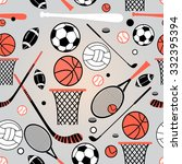 color graphic pattern sporting... | Shutterstock .eps vector #332395394