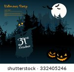 halloween party | Shutterstock .eps vector #332405246