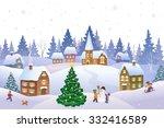 vector cartoon illustration of... | Shutterstock .eps vector #332416589