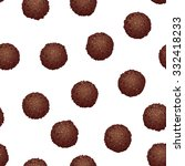 chocolate pops seamless vector ... | Shutterstock .eps vector #332418233