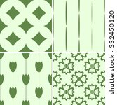 seamless patterns with... | Shutterstock .eps vector #332450120