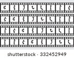 illustration of stickman... | Shutterstock .eps vector #332452949