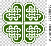 Four Leaf Clover Shaped Knot...