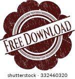 free download rubber grunge seal