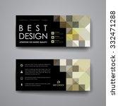 set of modern design banner...   Shutterstock .eps vector #332471288
