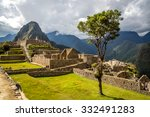 machu picchu  peru   august 8th ... | Shutterstock . vector #332491283